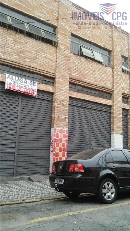 Prédio comercial para locação, Luz, São Paulo.