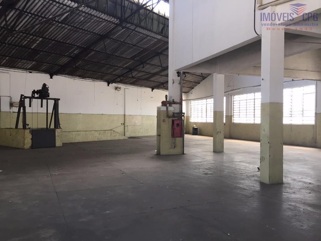 Galpão comercial para locação, Canindé, São Paulo.