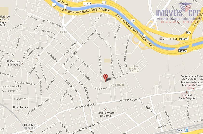 Galpão comercial para locação, Catumbi, São Paulo - GA0049.