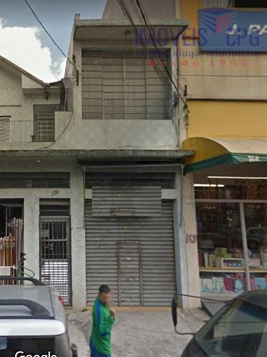 Loja comercial para locação, Canindé, São Paulo.
