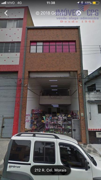 Galpão comercial à venda, Canindé, São Paulo.