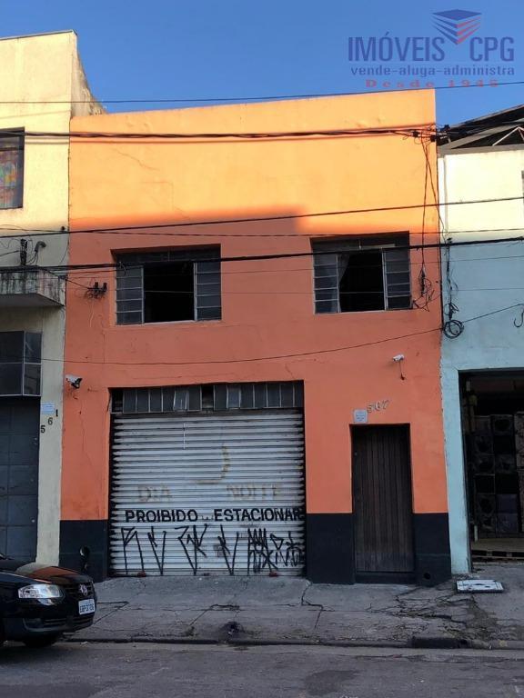 Galpão à venda, 240 m² por R$ 6.000.000 - Canindé - São Paulo/SP