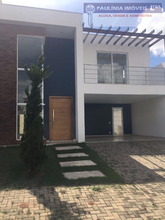 Sobrado  residencial à venda, Condomínio Yucatan, Paulínia.