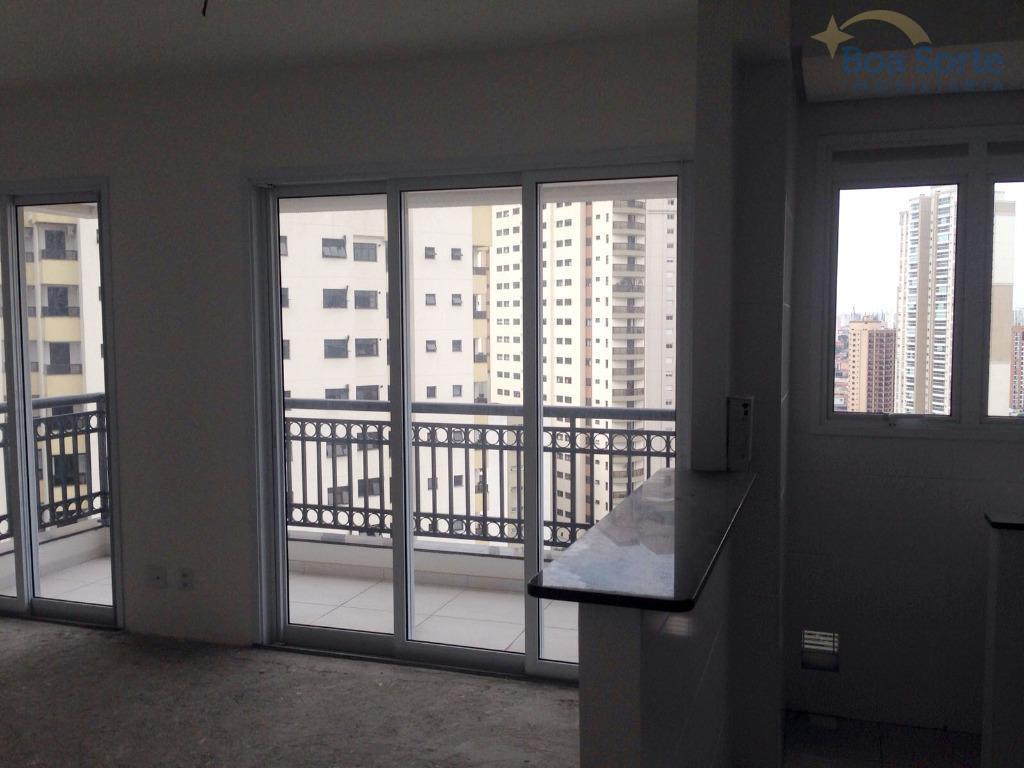 oportunidade! incrível apartamento de 46 m² contendo um dormitório, sala ampla com varanda, banheiro, cozinha americana...