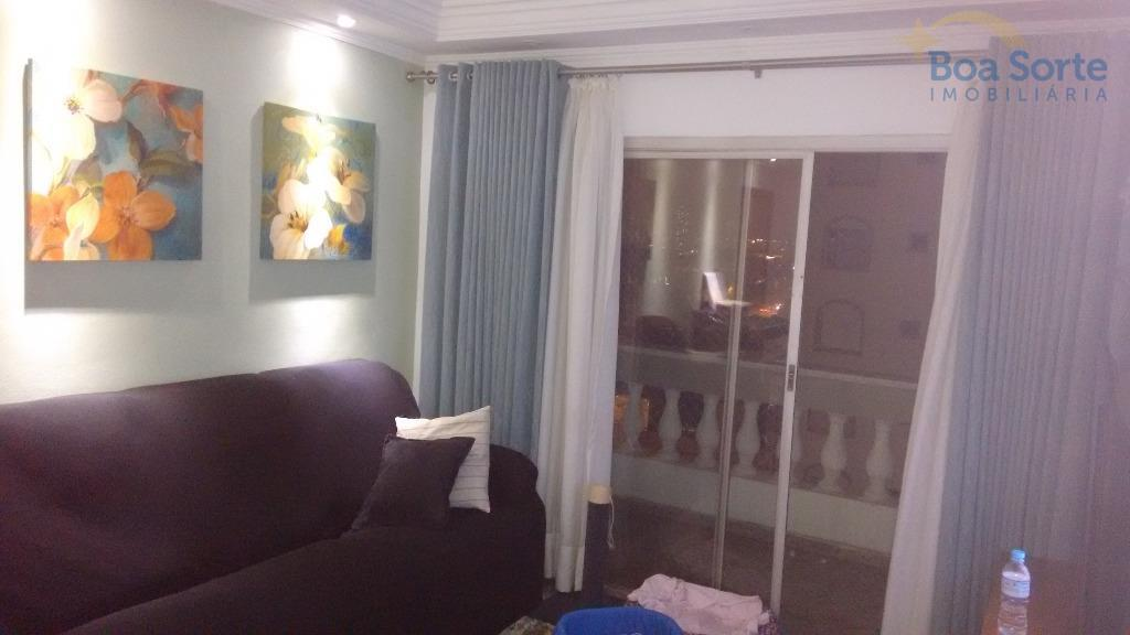 oportunidade! apartamento de 94 m², com três dormitórios completos em armários (duas suítes), sala ampla de...