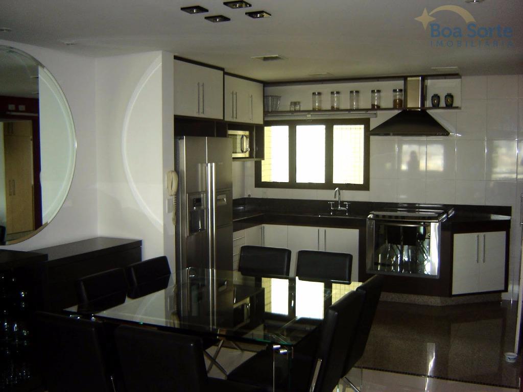 oportunidade! excelente apartamento de alto padrão com 114 m² contendo três suítes armários, sala ampla com...