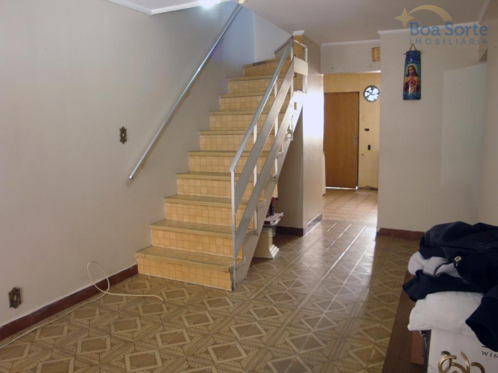 Sobrado residencial à venda, Vila Marieta, São Paulo.