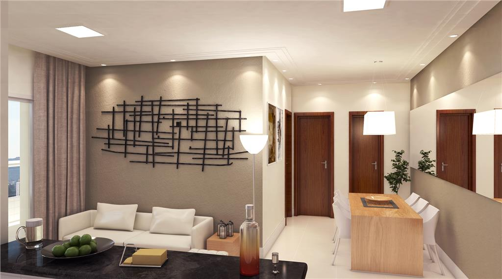 Apartamento Residencial à venda, Vila Guilhermina, Praia Grande - AP0883.