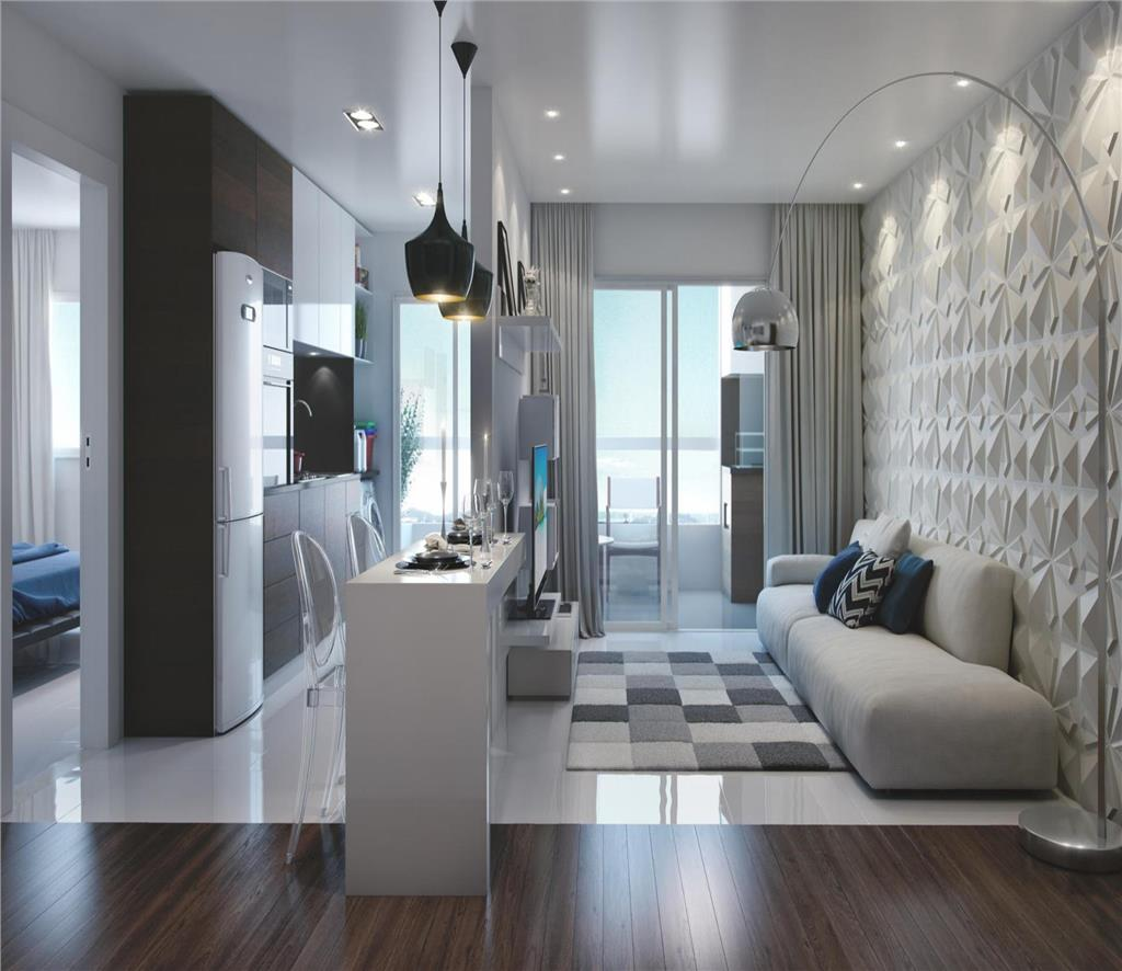 Apartamento Residencial à venda, Boqueirão, Praia Grande - AP1238.