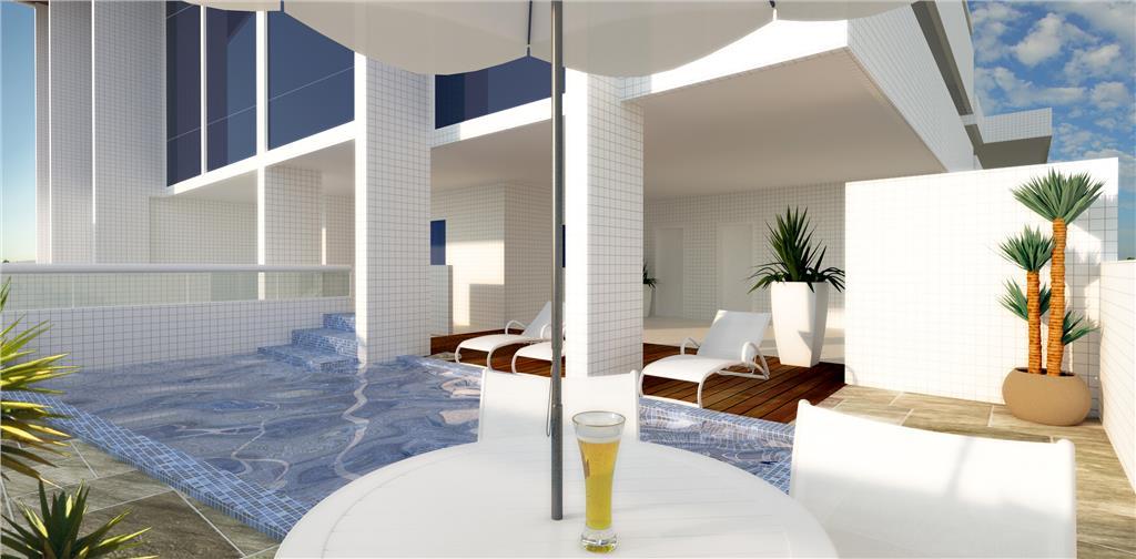 Apartamento Residencial à venda, Campo da Aviação, Praia Grande - AP1357.