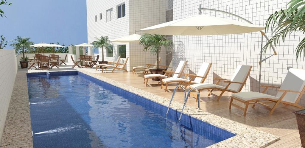 Apartamento Residencial à venda, Aviação, Praia Grande - AP1631.