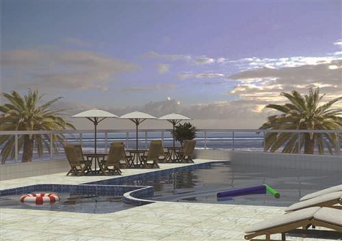 Localizado em um dos melhores Bairros de Praia Grande- AP1503.