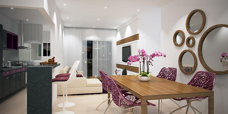 Apartamento Residencial à venda, Canto do Forte, Praia Grande - AP1412.