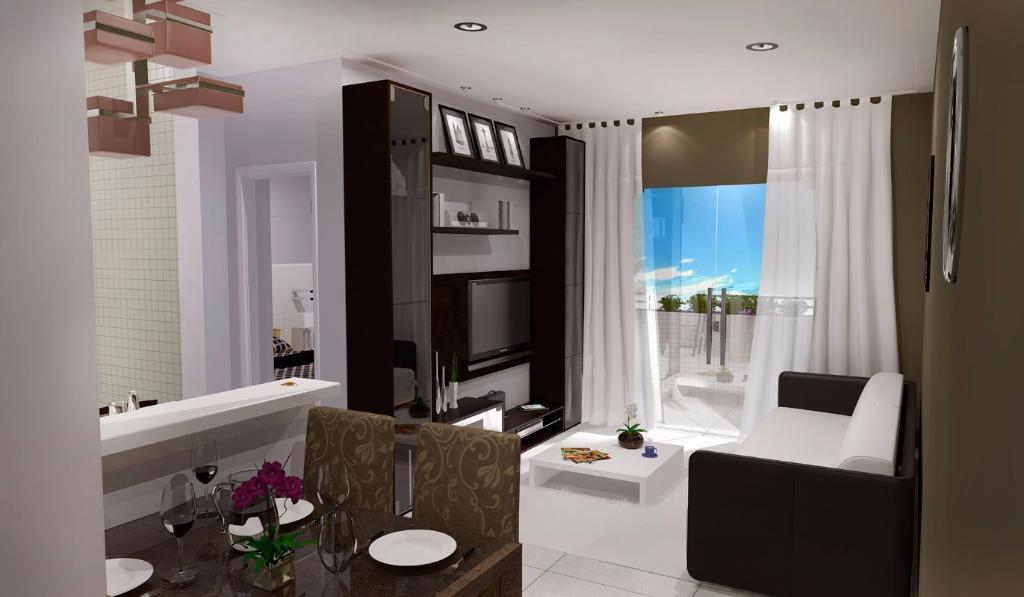 Apartamento Residencial à venda, Canto do Forte, Praia Grande - AP1475.