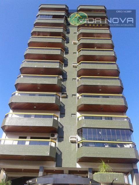 Apartamento Residencial à venda, Vila Guilhermina, Praia Grande - AP0919.
