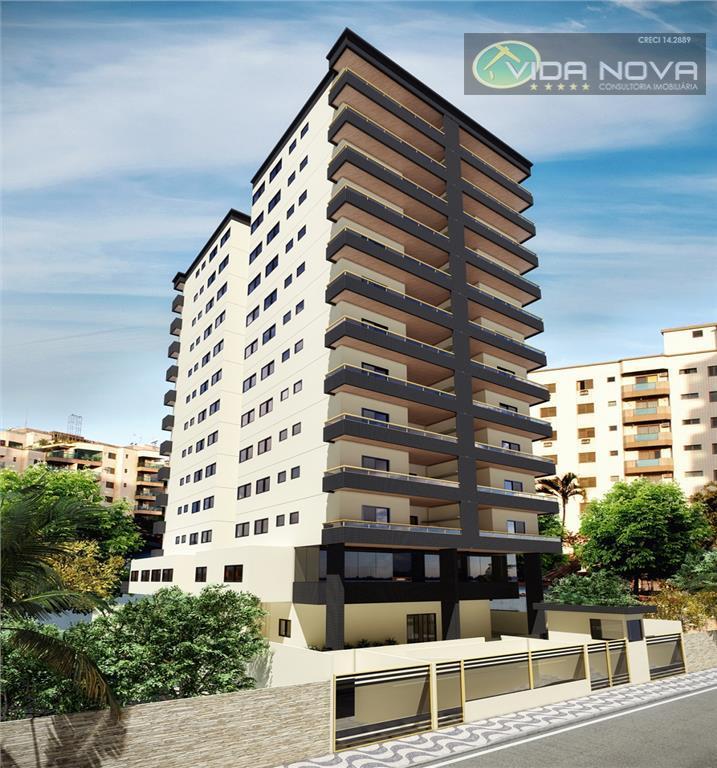 Apartamento Residencial à venda, Vila Guilhermina, Praia Grande - AP0958.