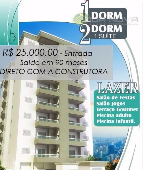 Lançamento, Apartamento, Casas, Coberturas, Imóveis em Praia Grande - REF. AP1234