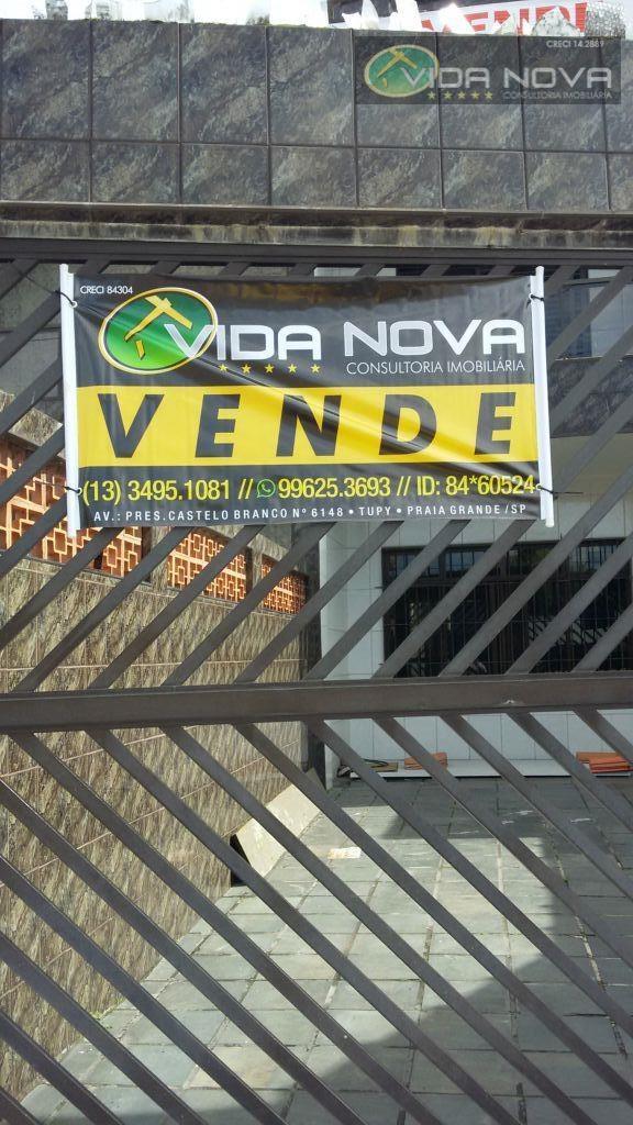 Sobrado Residencial à venda, Vila Tupiry, Praia Grande - SO0031.