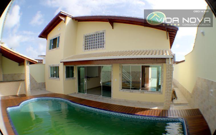 Maravilhosa Casa Alto Padrão, Bal.Flórida, Praia Grande.CA0230