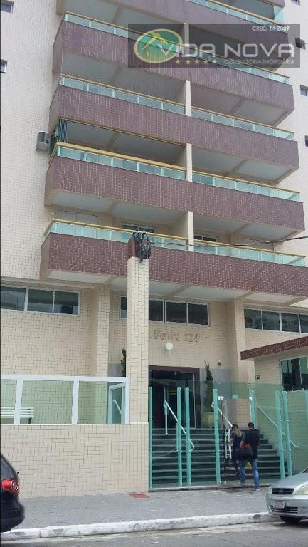 Apartamento à venda, Vila Tupi, Praia Grande.Ref-AP1971