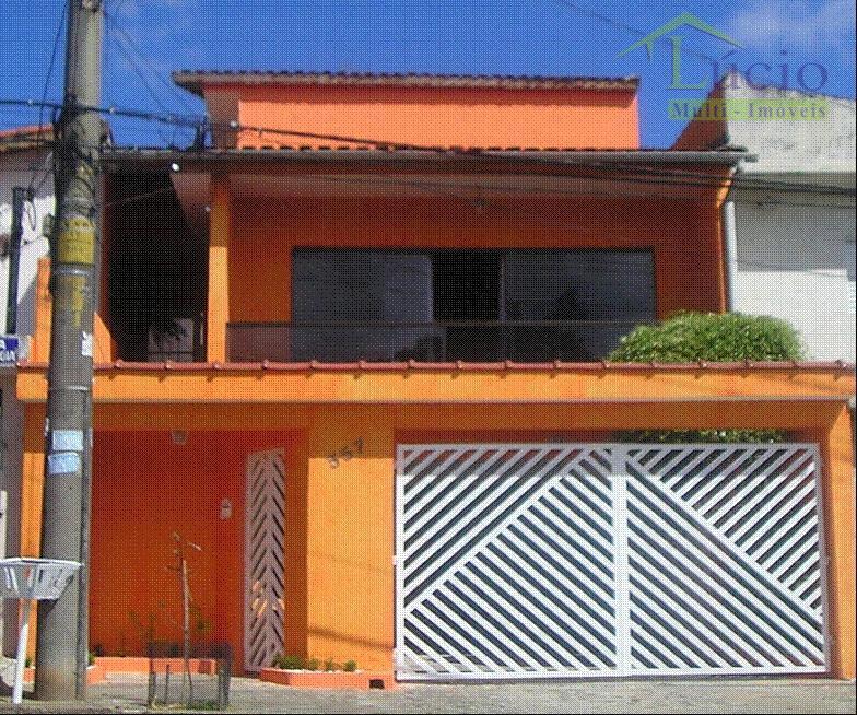 Casa residencial à venda, Jardim Stella, Santo André.