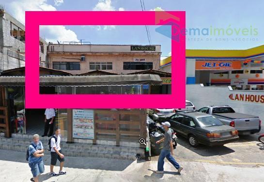Sala comercial para locação, Região Central, Caieiras - SA0005.