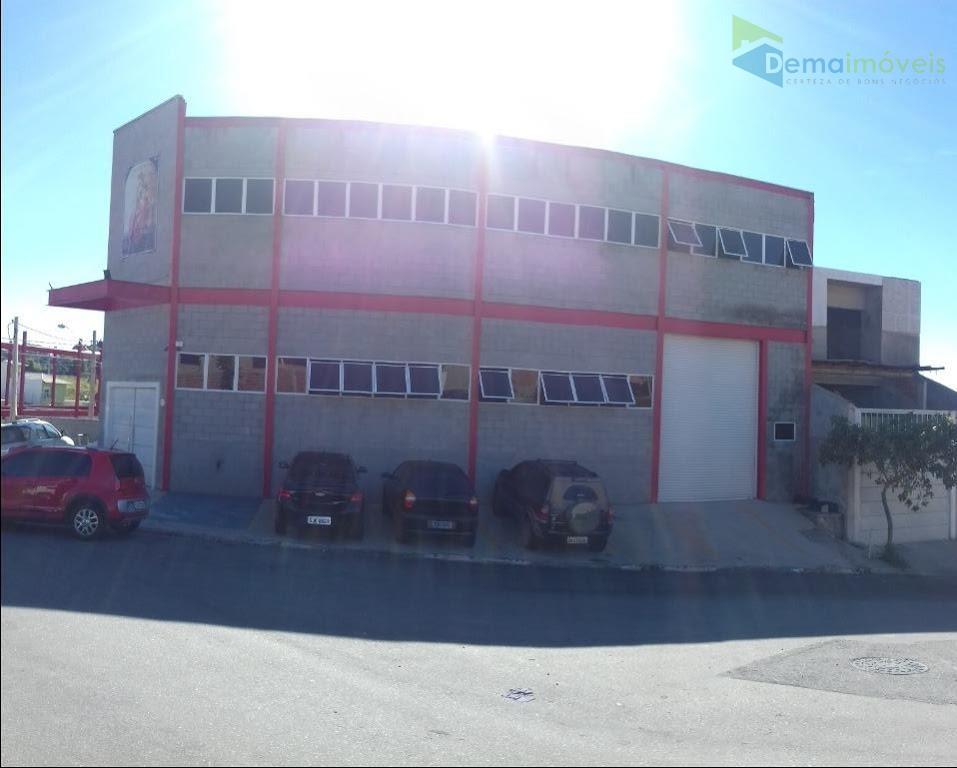 Galpão comercial para venda e locação, Jardim San Marino, Caieiras - GA0016.
