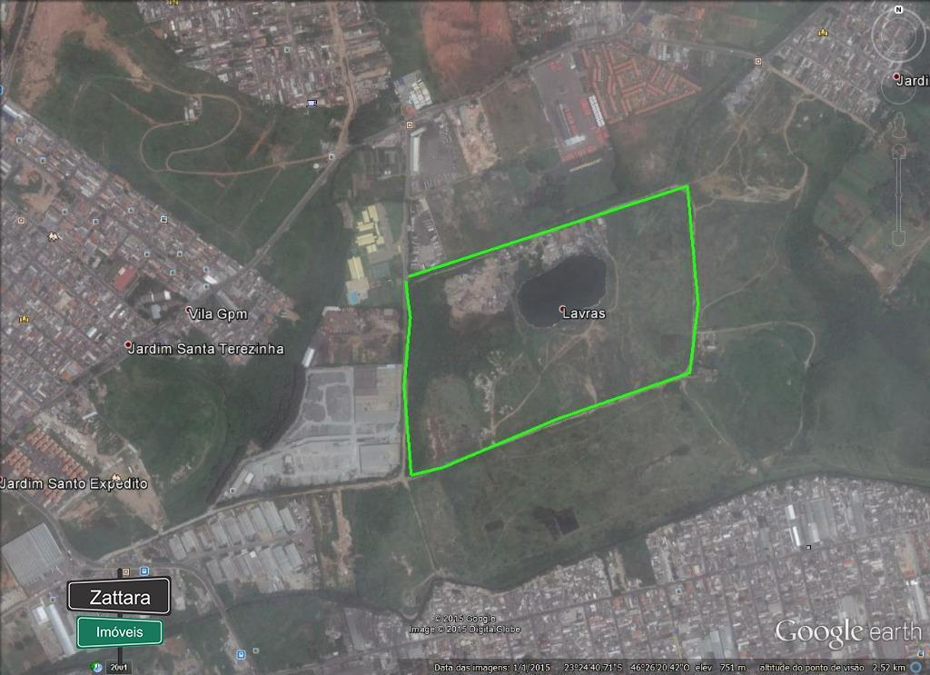 Terreno residencial à venda, Jardim Santo Expedito, Guarulho
