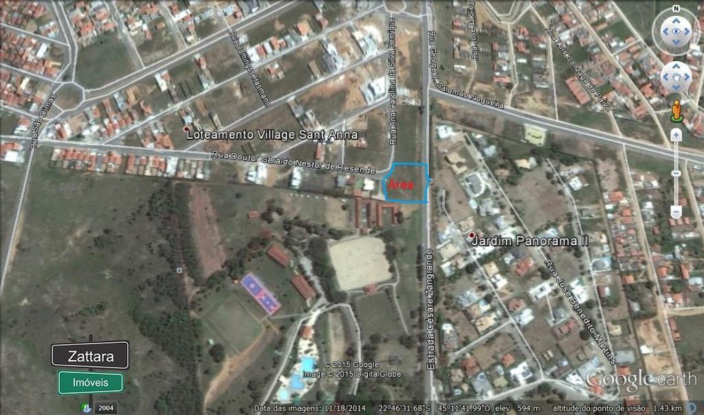 Terreno residencial à venda, Residencial Village Santana, Gu