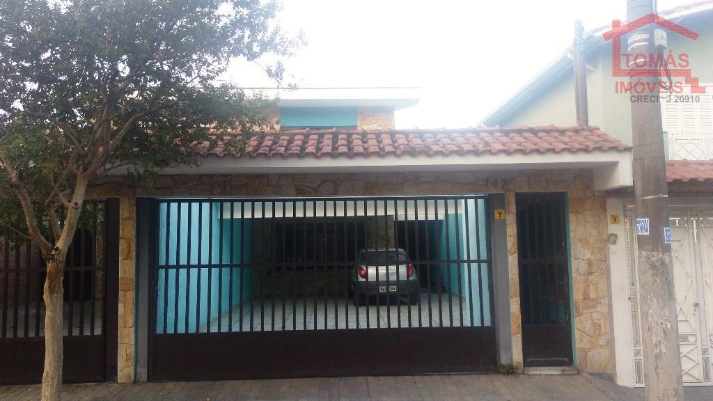 Sobrado residencial à venda, Vila Jaguara, São Paulo.