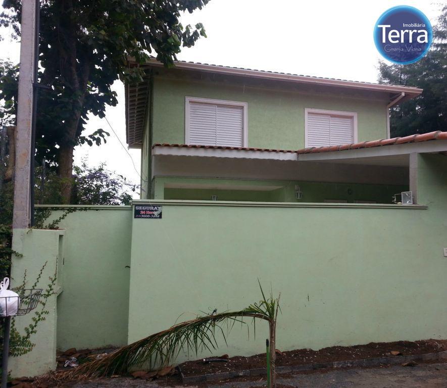 Casa residencial para locação, Vila Diva, Granja Viana
