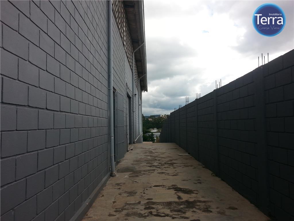 Galpão  industrial para locação, Vila Jovina, Cotia.
