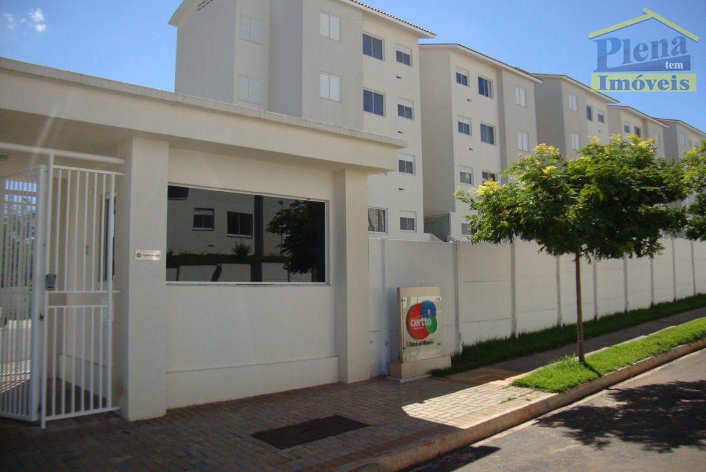 Apartamento residencial para locação, Residencial Anauá, Hortolândia - AP0085.