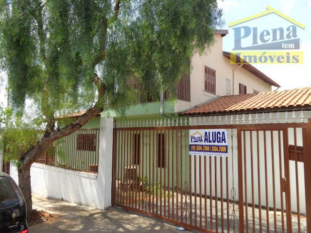 Casa comercial para locação, Loteamento Remanso Campineiro, Hortolândia.
