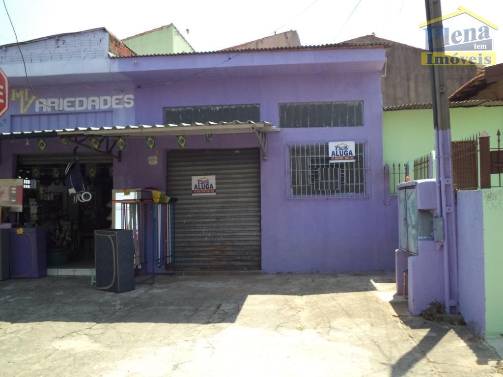 Salão  comercial para locação, Jardim Santo André, Hortolândia.