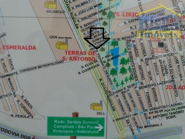 Área  comercial à venda, Jardim Terras de Santo Antônio, Hortolândia.