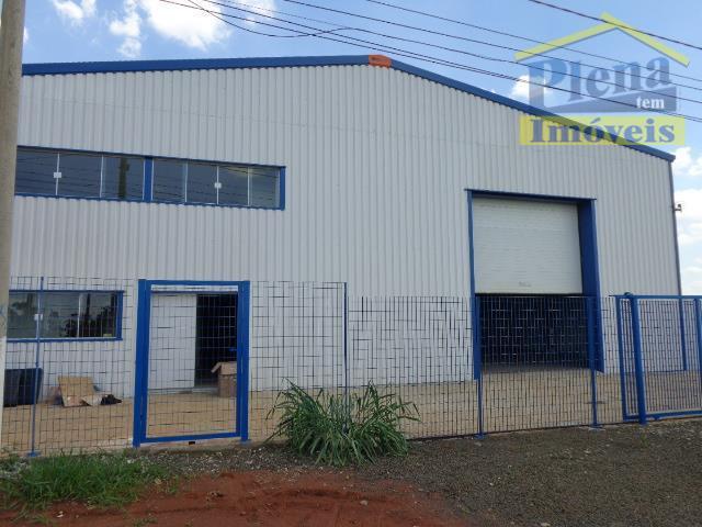 Barracão  comercial para locação, Jardim Nova Europa, Hortolândia.