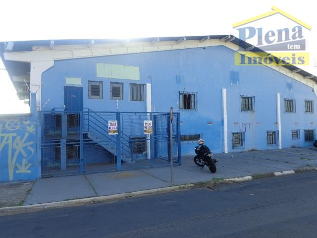 Barracão  comercial para venda e locação, Jardim Sumarezinho, Hortolândia.