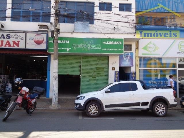 Salão comercial para locação, Centro, Sumaré - SL0176.