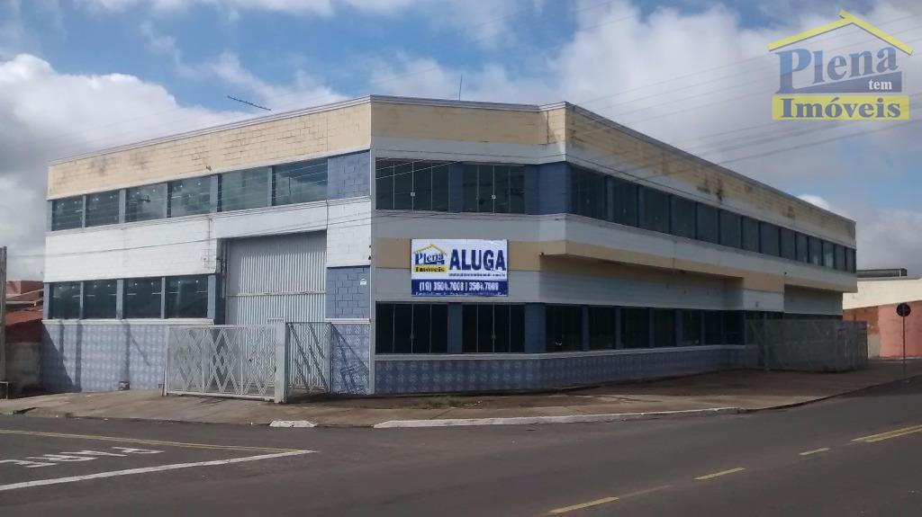 Galpão comercial para locação, Jardim Terras de Santo Antônio, Hortolândia.