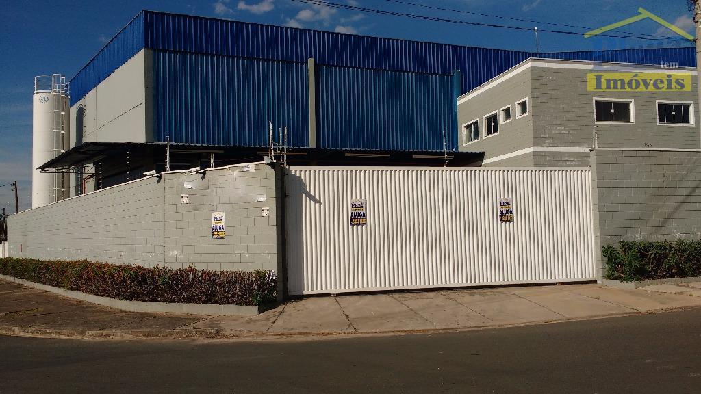 Barracão comercial para locação, Jardim Boa Vista, Hortolândia.