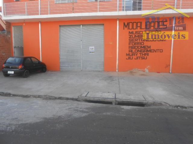 Salão comercial para locação, Jardim das Figueiras II, Hortolândia.