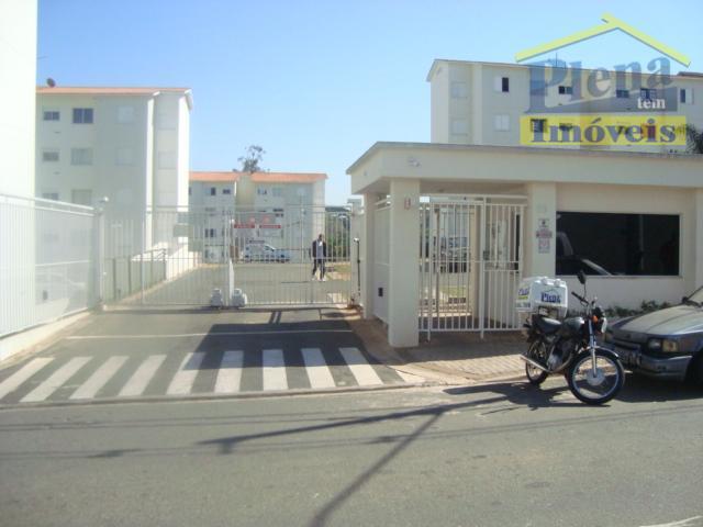 Apartamento residencial para locação, Residencial Anauá, Hortolândia.