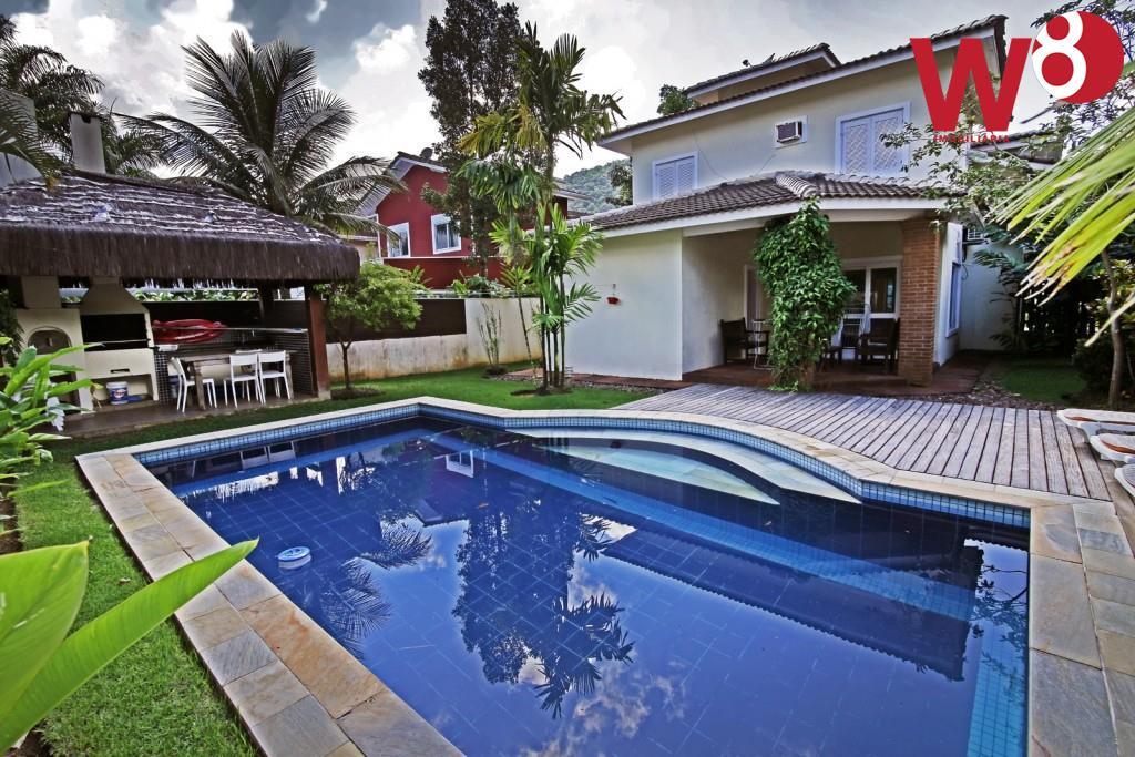 Sobrado residencial à venda, Praia da Baleia, São Sebastião.