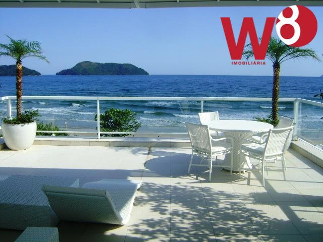 casa de alto padrão na praia de juquehy. localização privilegiada, mobília de qualidade e de muito...