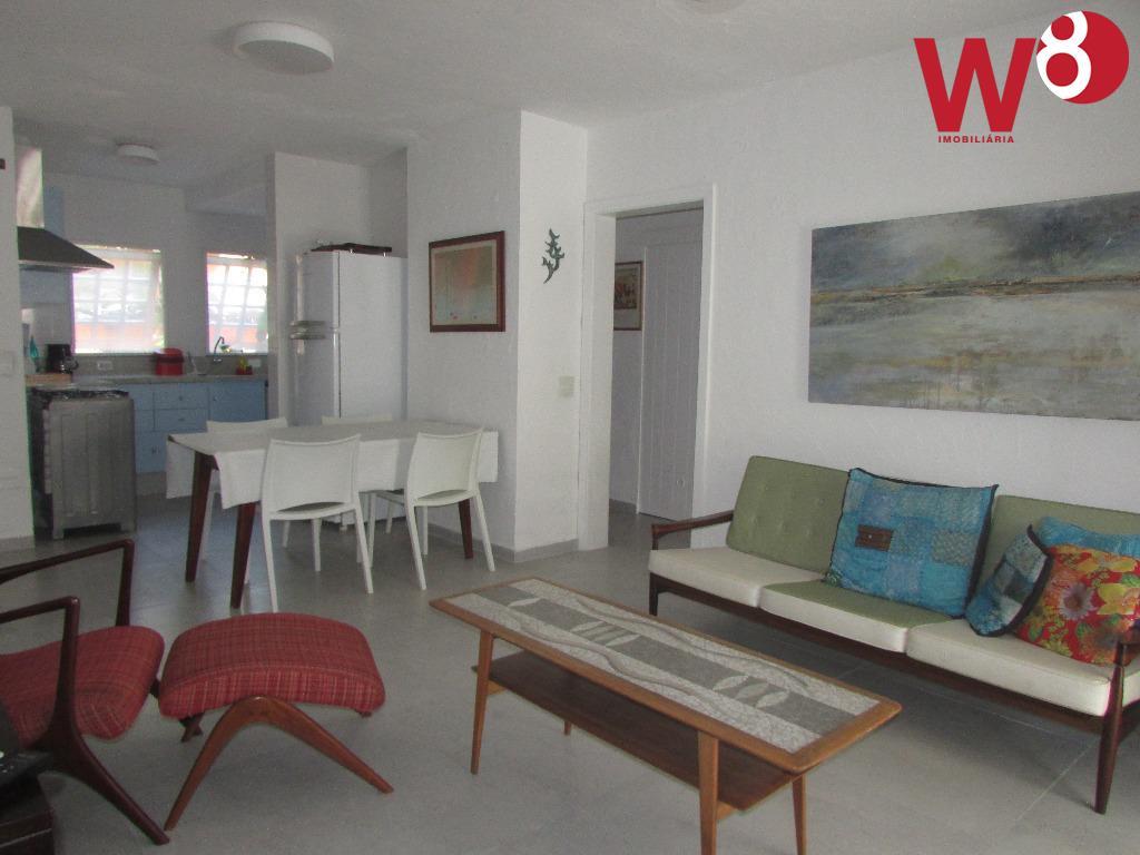 Apartamento  residencial para locação, Baleia, São Sebastião.
