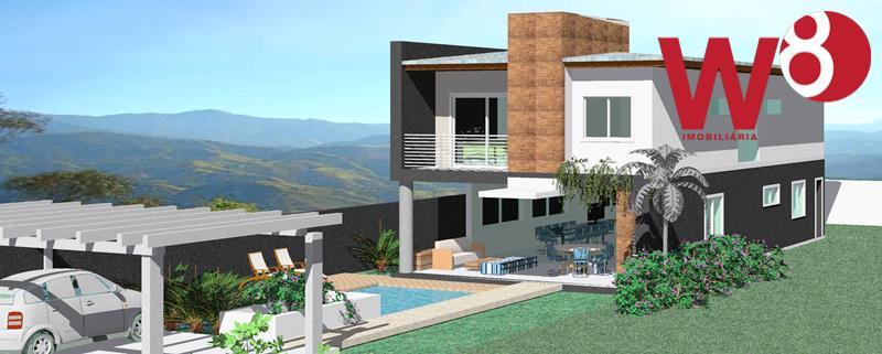 Sobrado residencial à venda, Baleia, São Sebastião.