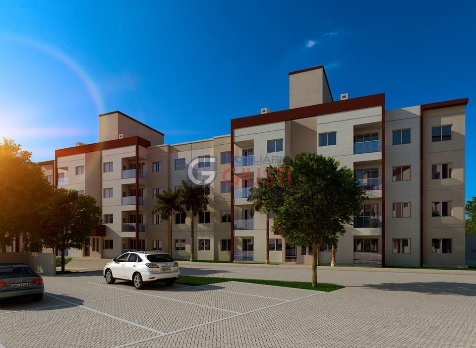 Apartamento residencial em construção à venda, São Gotardo, São Miguel do Oeste.