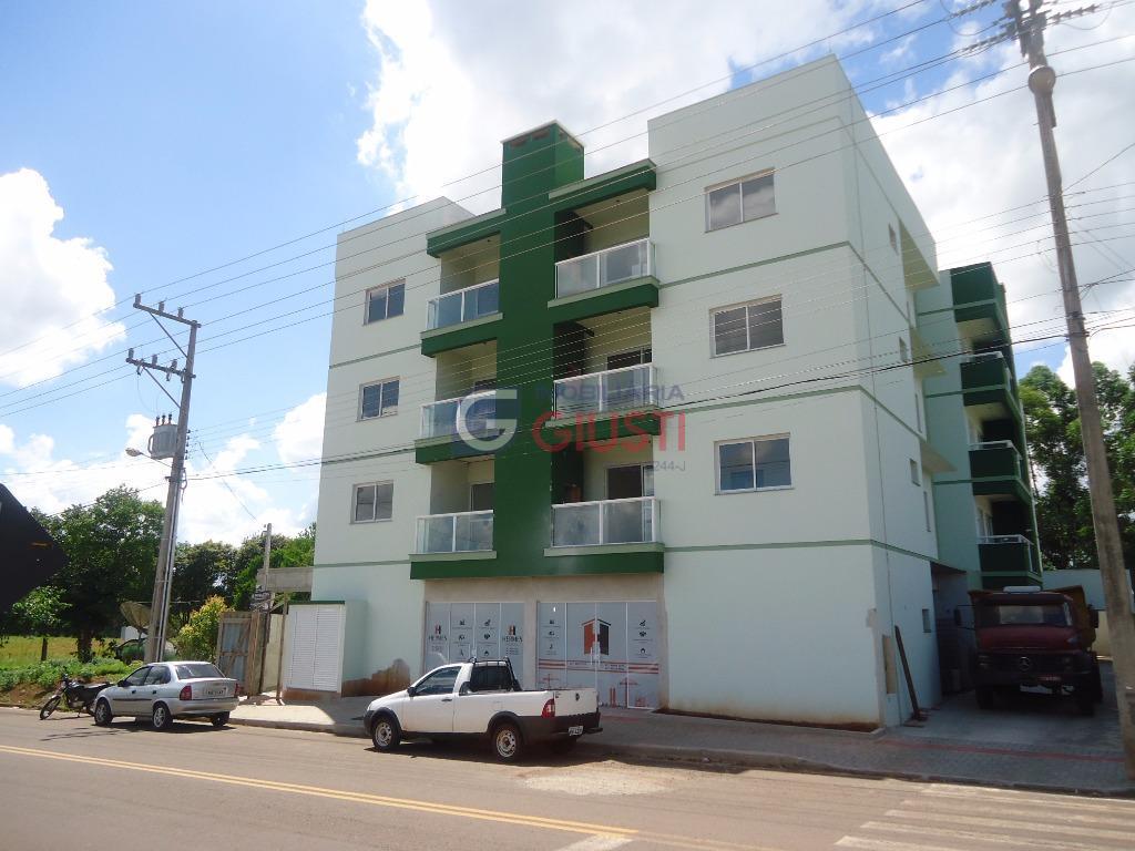 Apartamento residencial em construção à venda, Edifício São Cristovão, Bairro São Gotardo, São Miguel do Oeste.