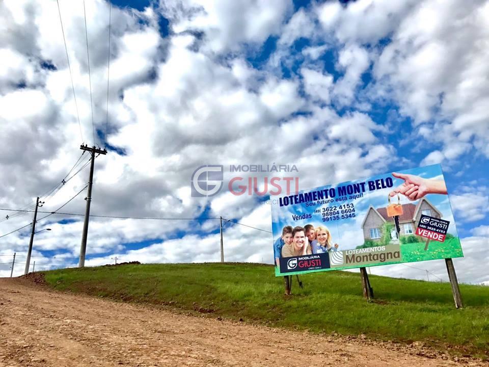 Terreno residencial à venda, Loteamento Mont Belo, saída para linha caxias, Bairro Agostini, São Miguel do Oeste.